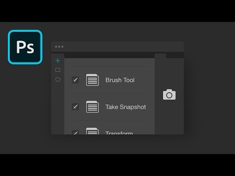 History Snapshot in Photoshop | 2 Minute Tutorial