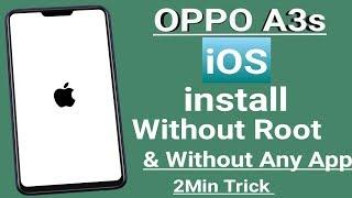 OPPO (ColorOS) #Theme IOS 12  OPPO a37 a3s f7
