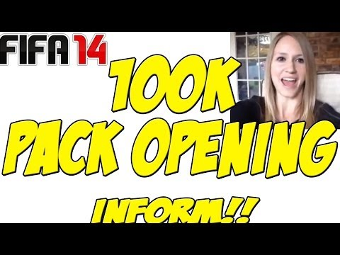 100K PACK OPENING|IF AGAIN!?| XBOX ONE|FIFA 14