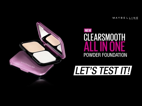 Matte Foundation | Maybelline Clear Smooth All in One Powder Foundation put to the ultimate test!