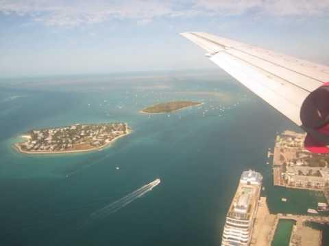 SILVER AIRWAYS SAAB 340 into KEY WEST!!