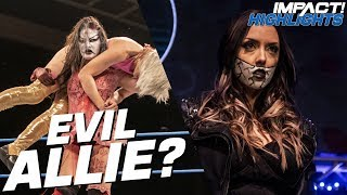 A Demonic Allie BETRAYS Kiera Hogan IMPACT Highlights Nov 15 2018