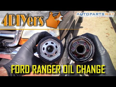 DIY: Ford Ranger 2.5L 4cyl Engine Oil Replacement