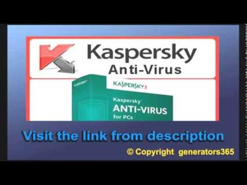 Kaspersky internet security 2014 activation code for 1 year free