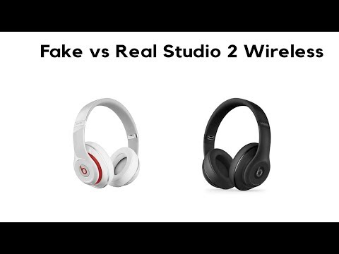 Beats by Dr. Dre Studio 2 Wireless Headphones (Fake VS. Real)
