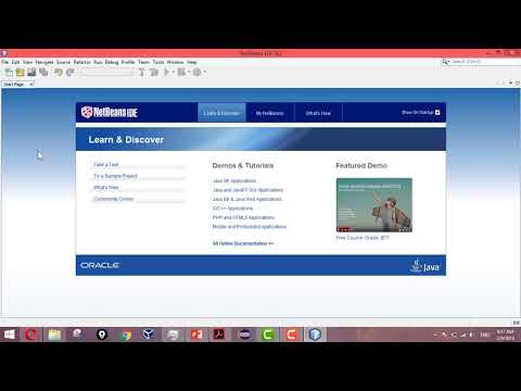 Saving Projects in NetBeans