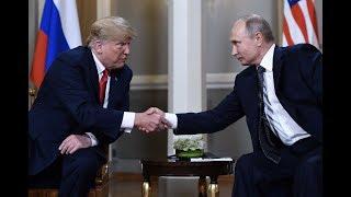 Breaking News: Trump Putin Summit In Helsinki Finland
