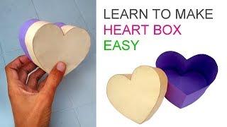Making heart box or love box easy