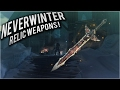 Neverwinter: Relic Weapon acquisition, Restoration and refinement