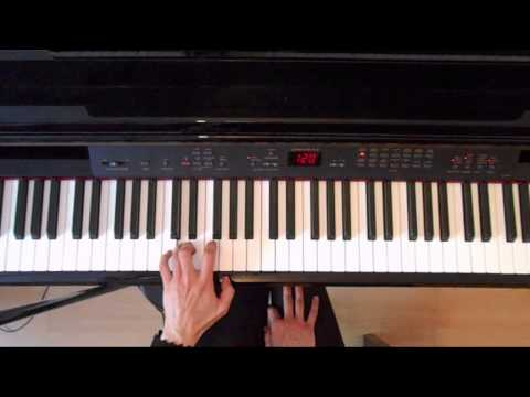 ABRSM grade 3 piano exam scales Piano tutorial ( slow demo)