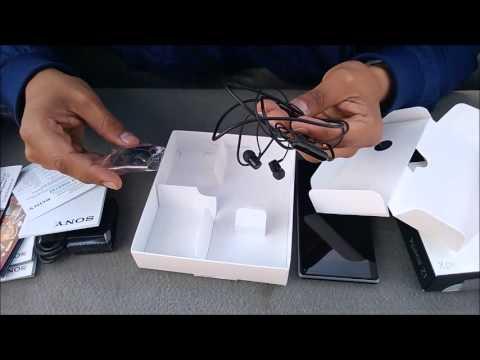 Unboxing Xperia Z1 de Telcel