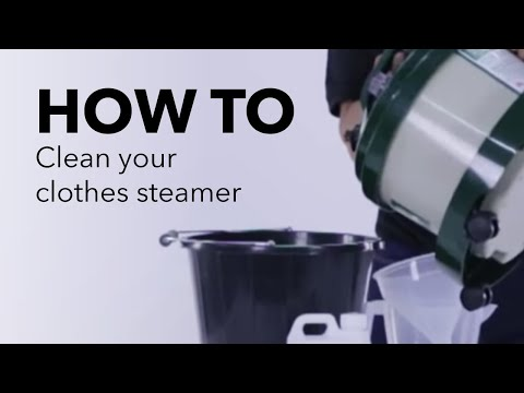 How to clean your Clothes Steamer