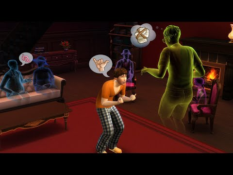 Sims 4 Cheat - How to Add a Ghost to Your Household