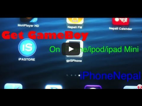 How To Install GBA Emulator On iPhone, iPod Touch & iPad Mini 6.1.2/6.1.3/5.1.1- GpsPhone & Get Roms