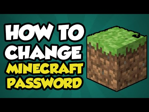 How To Change Your Password on Minecraft 2017 - Minecraft Password Change Tutorial