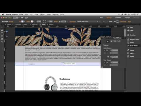 How To Create a Custom Page Navigation Menu in Adobe Muse CC