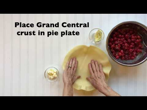 Sour Cherry Pie with Grand Central Pie Crust