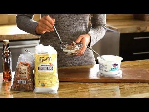 Greek Yogurt & Flaxseed : Greek Cooking