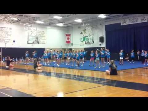 Baileys Cheer Performance 2013