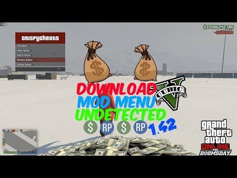 GTA 5 PC ONLINE 1.42 Maverick Mod Menu FREE Stealth Add Money 5M UNLIMITED (PATCHED)