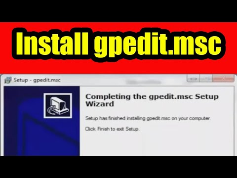Install gpedit.msc (Group Policy Editor) for windows 7  home and starter editions.