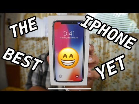 iPhone X Unboxing And First Look