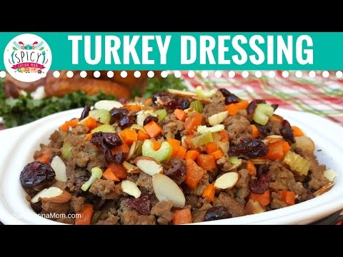 Mexican Turkey Stuffing Recipe | Thanksgiving and Christmas Food Recipes  - Spicy Latina Mom