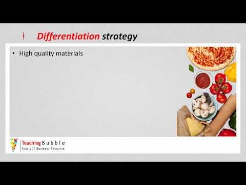 VCE Business Management - Porter's Generic Strategies