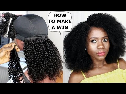DIY -HOW TO : MAKE A WIG TUTORIAL FOR BEGINNERS