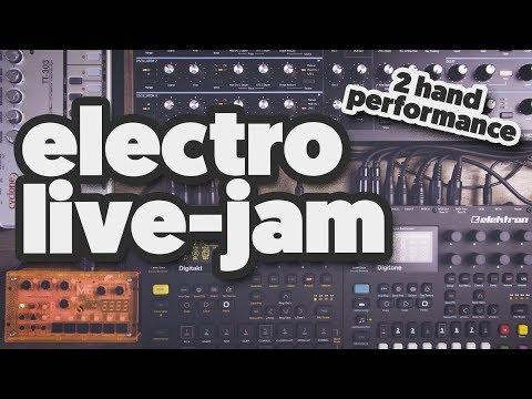 ELECTRO JAM [starring: Digitone, Digitakt, Peak, TT-303, Microgranny 2.5]