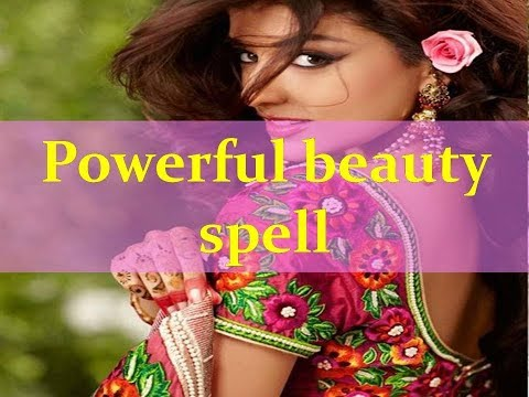 Powerful beauty spell-Everyone will fall for your beauty and love.