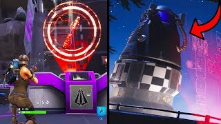 FORTNITE ROCKET LAUNCHED AND STARTED SEASON 5 MAP CHANGES! (FORTNITE BATTLE ROYALE)