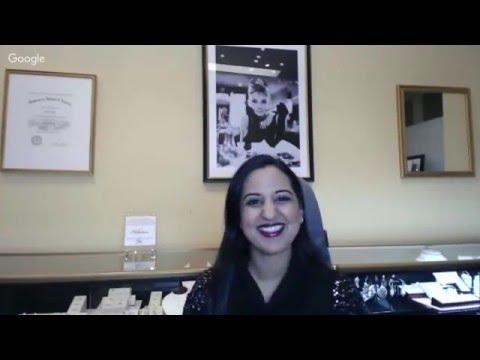 Diamond Shapes and Sparkle - Maharani Jewels