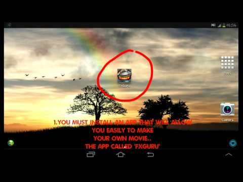 how to make an action movie on android