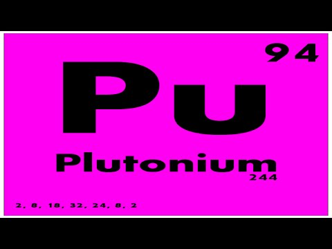 STUDY GUIDE: 94 Plutonium | Periodic Table of Elements