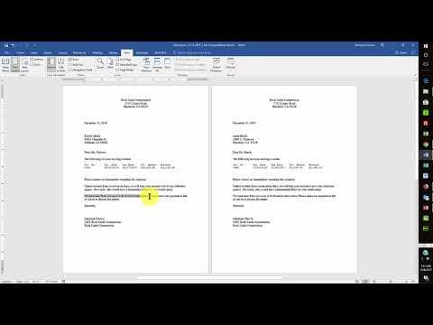 Create a Custom Letter Template in QuickBooks