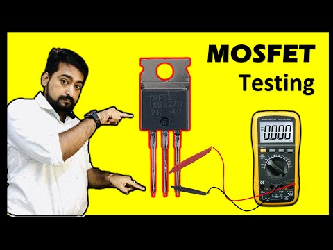 mosfet checking with multimeter  by niket shah  in hindi