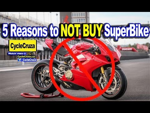 5 Reasons Why You SHOULDN'T BUY A SUPERBIKE Motorcycle | MotoVlog