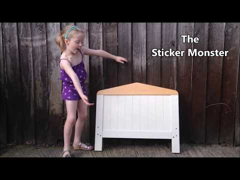 How to Remove Stickers from Wood Furniture. No scratches.
