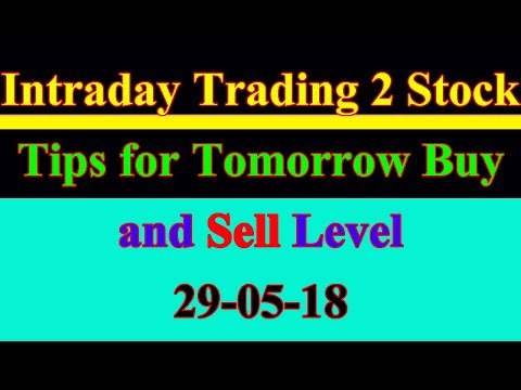 Intraday trading stock tips for tomorrow # Strong level in hindi |29-05-18