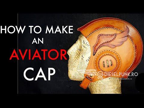 aviator helmet tutorial and pattern download