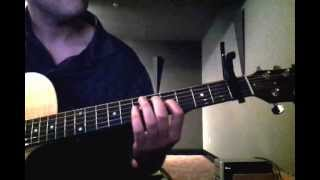 D At Sea - Carrion  Guitar Cover