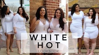 White Hot Lookbook  |Plus Size Fashion|