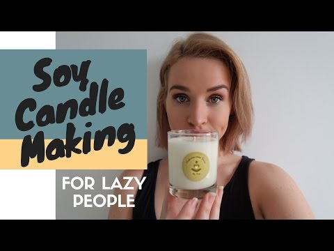 Candle Making for Beginners: Easy Soy Candles