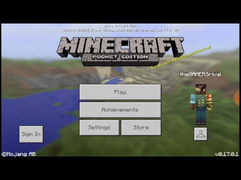 Minecraft PE:How to make your trees grow faster//theGAMERSrival