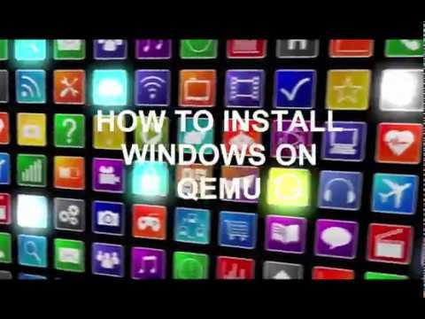 EASY, HOW TO INSTALL WINDOWS ON QEMU