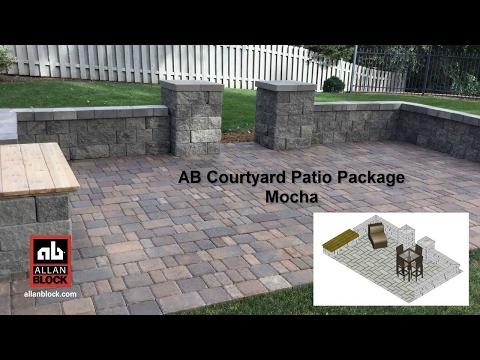 AB Courtyard Patio Package Mocha