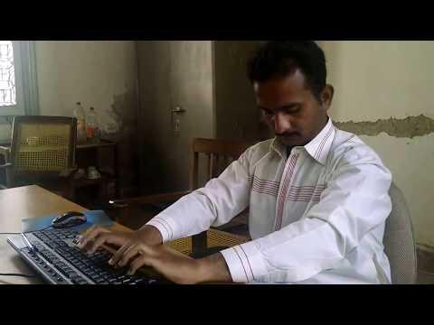 Amazing!! Worlds fastest writer!(typing)