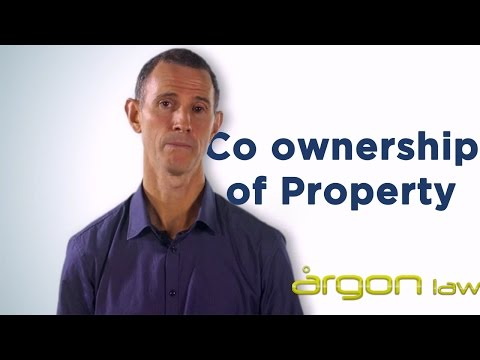 Co Ownership of Property :: How to avoid complications. Sunshine Coast Solicitor- Argon Law