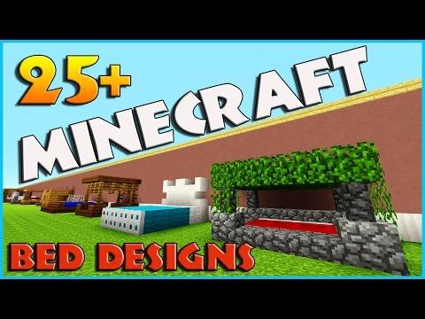 25 + bed designs and ideas minecraft   Minecraft Furniture ideas! 1.11